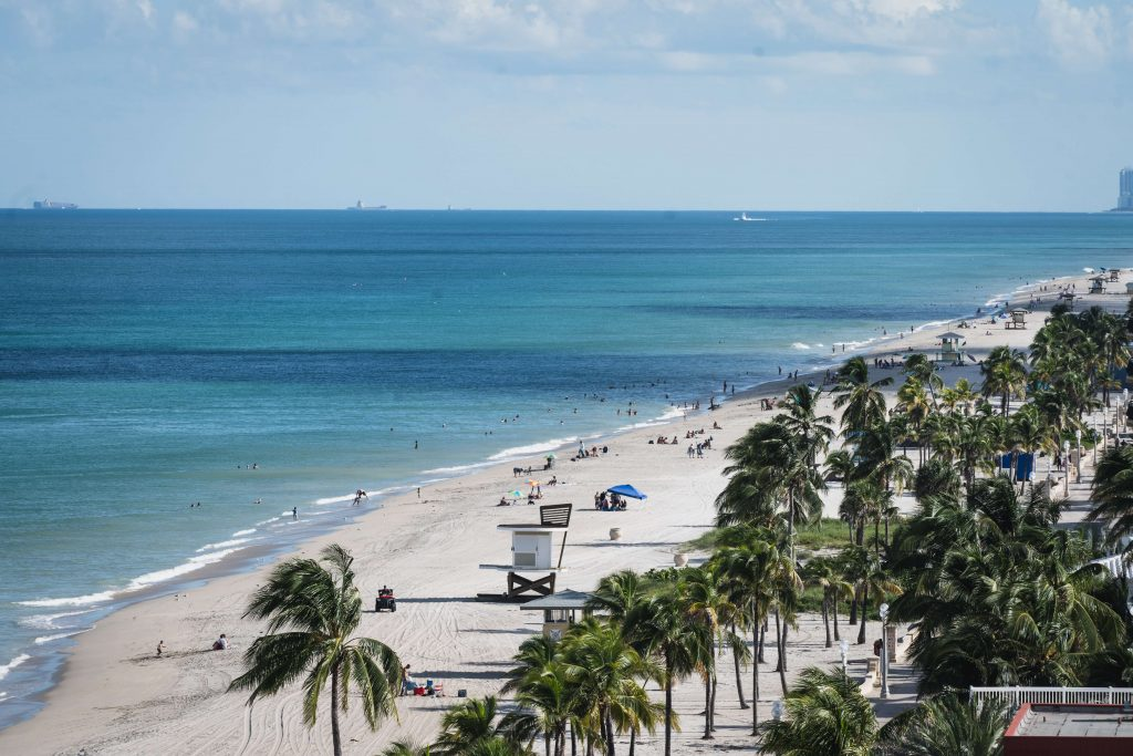 Hollywood, Florida - Hollywood Beach - FL
