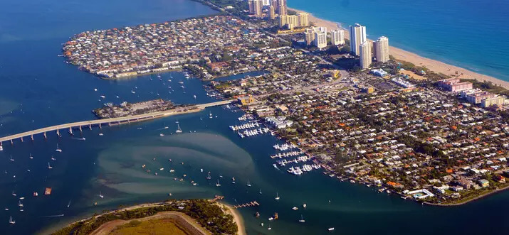 Port Charlotte Florida - Port Charlotte Aerial View FL, Best Snowbird Destination